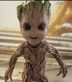 I am Groot. I am happy. {Guardians of the Galaxy} {Fullness of Joy} Marvel Characters, Marvel Movies, Sketch Tattoo Design, Baby Groot, Marvel Wallpaper, Mural Art, Cute Disney, Cute Baby Clothes, Disney Drawings