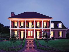 Eplans Plantation House Plan - New Iberia - 3480 Square Feet and 3 Bedrooms from Eplans - House Plan Code HWEPL10024