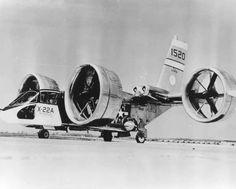 X-22A On Ground, 1st Flt 17 Mar 1966, No. Built 2