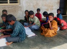sheisfromindia:    INDIA - In the classroom by BoazImages on Flickr.
