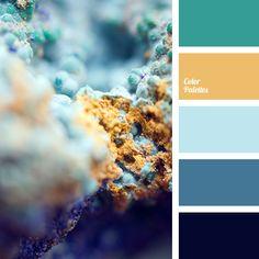 Brown Color Schemes, Color Schemes Colour Palettes, Red Colour Palette, Gold Color Scheme, Bedroom Color Schemes, Gold Colour, Design Seeds, Pantone Azul, Baby Blue Colour