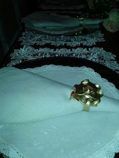Casamento de Priscila Otoch no la Maison. Porta guardanapos feito por Rosa Sensoli Design.