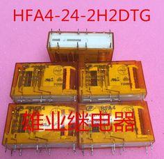 relay HFA4 24-2H2DTG HFA4-24-2H2DTG HFA4 242H2DTG DIP10 5PCS/LOT #Affiliate