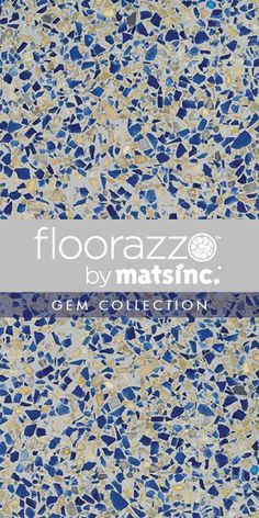 #Terrazzo #Tile #Flooring ? // #Floorazzo ™ #Gem Collection // High Tide // Learn more & order samples here http://matsinc.com/commercial-flooring-products/contract-flooring/terrazzo-tile-flooring/floorazzo-gem.html