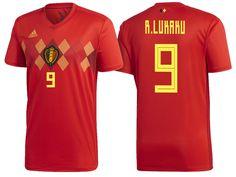 Belgium 2018 World Cup Home Jersey romelu lukaku Cheap Football Shirts acd378ebe