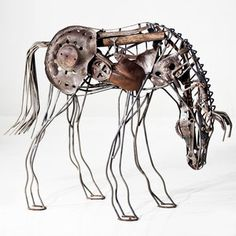 Fab.com   Layered Metal Animal Sculptures by Malen Pierson
