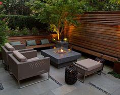 Contemporary Small Outdoor Patio Exterior Decorating Ideas