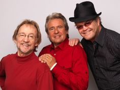 From left to right, Peter Tork, Davy Jones and Micky Dolenz of The Monkees pose during portrait session to announce the band's 45th anniversary tour held at The Groucho Club on Feb. 21, 2011, in London