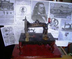 Vintage Howe Sewing Machine