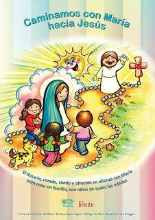"""Taller: """"JUGANDO ME ACERCO A MARÍA"""": Nuevo libro: """"CAMINAMOS CON MARÍA HACIA JESÚS"""""""