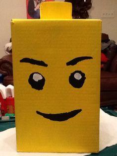 Finished Lego Valentine box