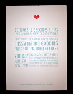 Printable DIY Bridal Shower Invitation  by LittleLadyCompany, $20.00