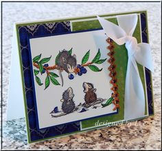 Stitchy Mice by LuvLee - Cards and Paper Crafts at Splitcoaststampers