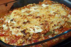 Falsa Lasaña de Verduras Carne Picada, Queso, Lasagna, Pasta, Ethnic Recipes, Food, Vegetable Lasagne, Meals, Thanks