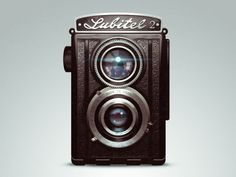 Lomo Lubitel Vintage Camera by Lorenzo Milito, via Behance