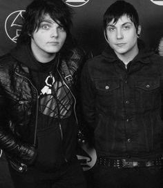 Gerard Way and Frank Iero - My Chemical Romance