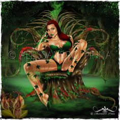 POISON IVY                                                                Gallery art :: ALESSANDRO PINNA ARTWORK