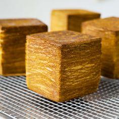 Bake Croissants, Cube Recipe, Croissant Recipe, Breakfast Meals, Places To Eat, Cubes, Toronto, Breads, Restaurants