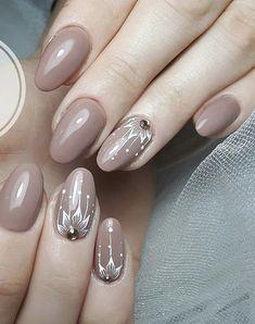 Classy Nails, Simple Nails, Trendy Nails, Burgundy Acrylic Nails, Pink Gel Nails, Nail Designs 2017, Best Nail Art Designs, Glitter Nail Art, Gel Nail Art