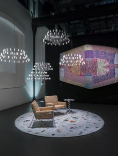 Moooi Carpets Signature Collection, Style: Garden of Eden Light Grey by Marcel Wanders. Moooi broadloom carpeting is available exclusively through Aronson's Floor Covering, New York.