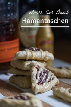 In our home, Jewish and Irish meet, making this Irish Car Bomb Hamantaschen the perfect Purim recipe!