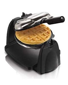Hamilton Beach Flip Belgian Waffle Maker with Non-Stick Removable Plates, Browning Control, Drip Tray, Stainless Steel Waffle Maker Reviews, Best Waffle Maker, Belgian Waffle Maker, Belgian Waffles, Hamilton Beach Waffle Maker, Pizzelle Maker, Pizzelle Cookies, Almond Flour Waffles, Fluffy Waffles