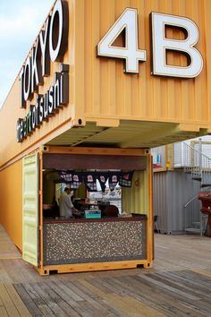 Modification of the container so the house/cafe according to the needs you want. Our main service is selling, leasing and modification of old containers Shipping Container Cafe, Shipping Container Conversions, Shipping Container Buildings, Used Shipping Containers, Container Food, Cargo Container, Container Architecture, Architecture Design, Design Furniture