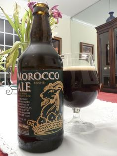 Daleside Brewery(breved for Levens Hall) - Morocco ale 5,5% pullo