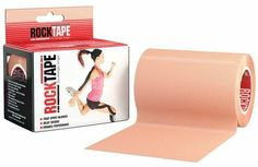 RockTape Active-Recovery Kinesiology Tape for Athletes - 4-Inch x 16.4-Feet -- Be sure to check out this awesome product.