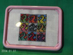 DRAGON Panel Art Framed Cross Stitch 9 by SnarkyLittleStitcher, $8.00