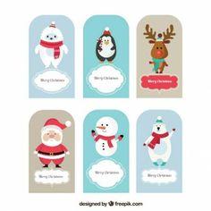 Christmas animal cards