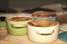 #AlidaRyder Zucchini Flan & Mini Cocotte
