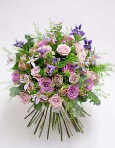 Shop beautiful bohemian style fresh flower bouquets of superior quality. Orchidya - Purveyors of spectacular blooms in London. Bohemian Flowers, Flower Studio, Romantic Gestures, I Still Love You, Clematis, Fresh Flowers, Floral Arrangements, Wedding Decorations, Floral Wreath