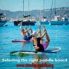 Selecting the right paddle board  Selecting the best SUP board is really important if you want to make your Stand up paddle boarding experience as enjoyable as possible. The right stand up paddle board would not only get you riding the waves quickly and easily, but would also ensure that you don't hurt yourself and others around you.  http://standup-paddle.org/