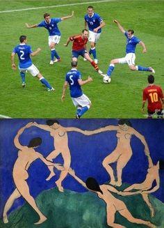 football is art