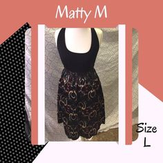 • Marty M • Racerback Print Dress Racer back tank and print skirt dress. Great condition! No rips, stains, holes or other damages • All items come from a pet & smoke free home • My prices fluctuate from time to time so catch items when prices are low • I accept REASONABLE offers and I discount bundles • Not interested in trading or selling items off PoshMark • ✌🏻️❤️🛍 Matty M Dresses