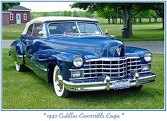 1947 Cadillac convertible...Brought to you by #HouseofInsurance in #EugeneOregon97401