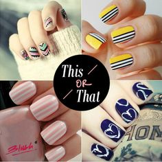 Bring the summer freshness to your nails!Which of these trendy styles would you love to flaunt this weekend?