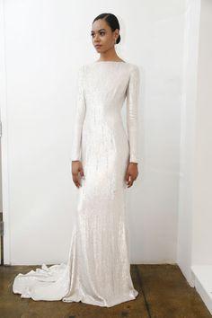Pamella Roland Harpers Bazaar Spring 2016 Designer Wedding Dresses - Couture Wedding Dress Designers