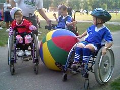 Pin #2 - Four Areas of Modification -  TOPSoccer - a modified verion of the game allowing for participation - This is a game of soccer but the rules, and equipment are modified to meet different children with different disabilities. Children who are in wheelchair can play this game also children who have autism or down syndrome can participate as well. Adapted Physical Education teacher can use this game in their class because students with and without disabilities can both enjoy the game.