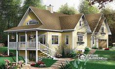 Plan de maison no. W3931 de dessinsdrummond.com