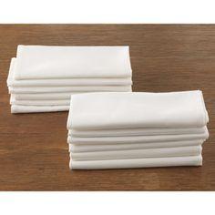 Large Cotton Cloth Dinner Napkins, Set of 12 | CHEFScatalog.com