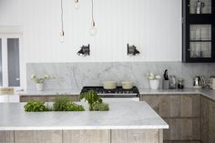 Industrial Chic - Transitional - Kitchen - london - by Blakes London Beautiful Kitchen Designs, Contemporary Kitchen Design, Beautiful Kitchens, Cool Kitchens, Home Design, Küchen Design, Interior Design, Design Ideas, Kitchen Counter Stools