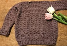 Crochet Bebe, Crochet For Kids, Little People, Barn, Pullover, Knitting, Sewing, Pattern, Sweaters