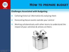 Benefits of budgets