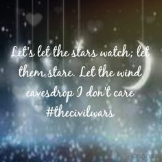 Eavesdrop, the Civil Wars - I am OBSESSED with this song!  Joy's voice is heaven!
