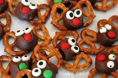 Reading Confetti: Reindeer Rolo Pretzels & 5 Reindeer Books
