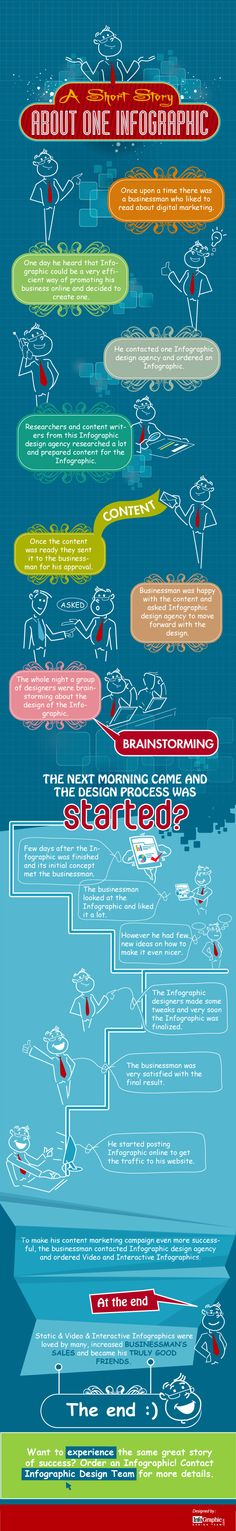 A Short Story About One #Infographic
