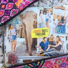Check out the current issue of @people magazine to see the Thailand feature from our @thelittlemarket trip!
