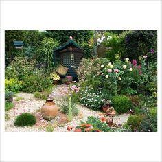 more of the gravel garden...